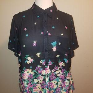 Womens  button Down shirt